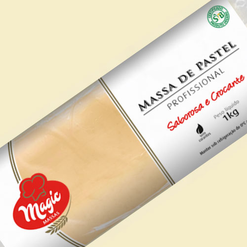 Massa de Pastel Rolo Magic Massas 1kg