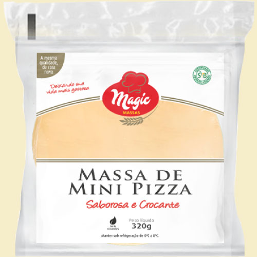 Mini Pizza Magic Massas 320g