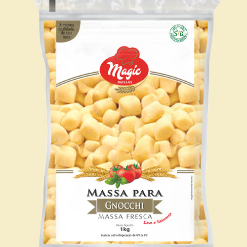 Nhoque de Batata Magic Massas 1kg